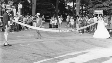 An American love story at the Peachtree Road Race
