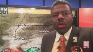 Tropical System moves south