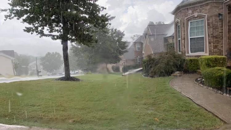 Major rain moves through Cherokee County on Aug. 23, 2019