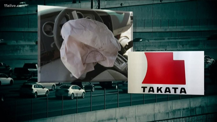 Malfunctioning airbags for several automobile brands