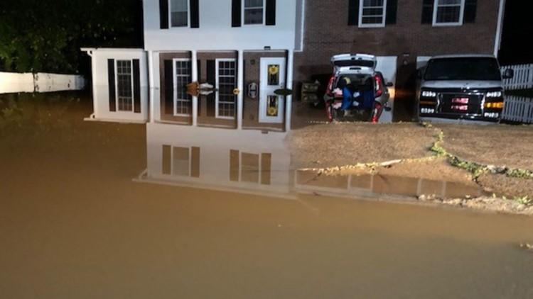 Flooding reported around metro Atlanta