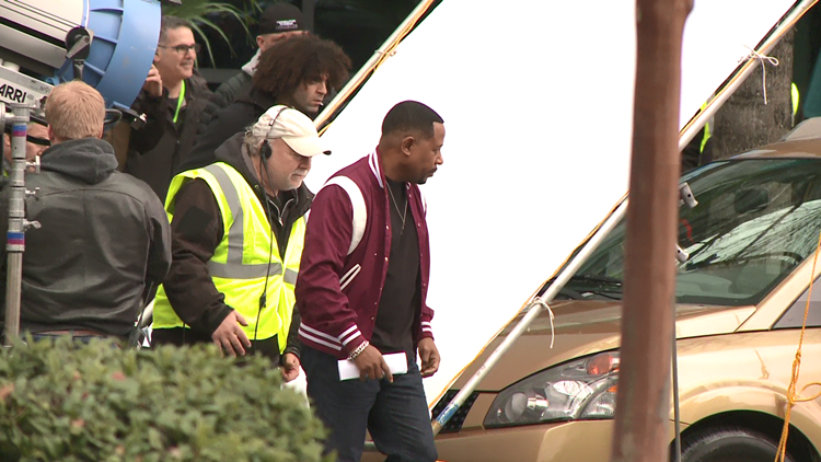 'Bad Boys For Life' starring Will Smith, Martin Lawrence filming in Buckhead