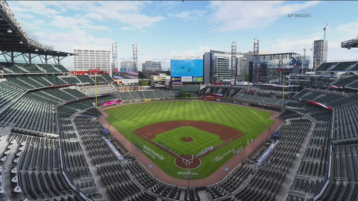 Braves game Friday will be first since 2019 where seating at full capacity allowed