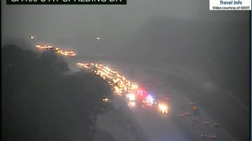 Wreck briefly blocks all lanes on GA-400 North