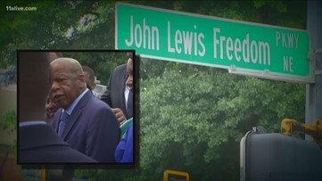 Atlanta's rich civil rights history told through street signs