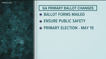 Georgia to send absentee ballot request forms to every voter amid coronavirus concerns