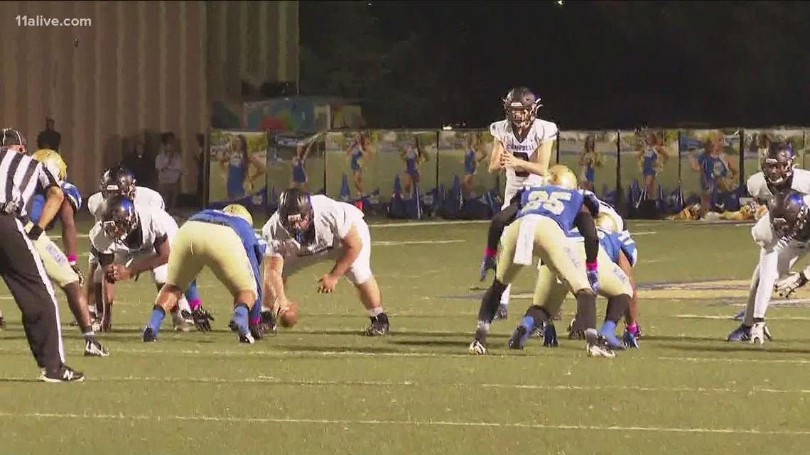 Campbell vs. McEachern   Week 8 high school football