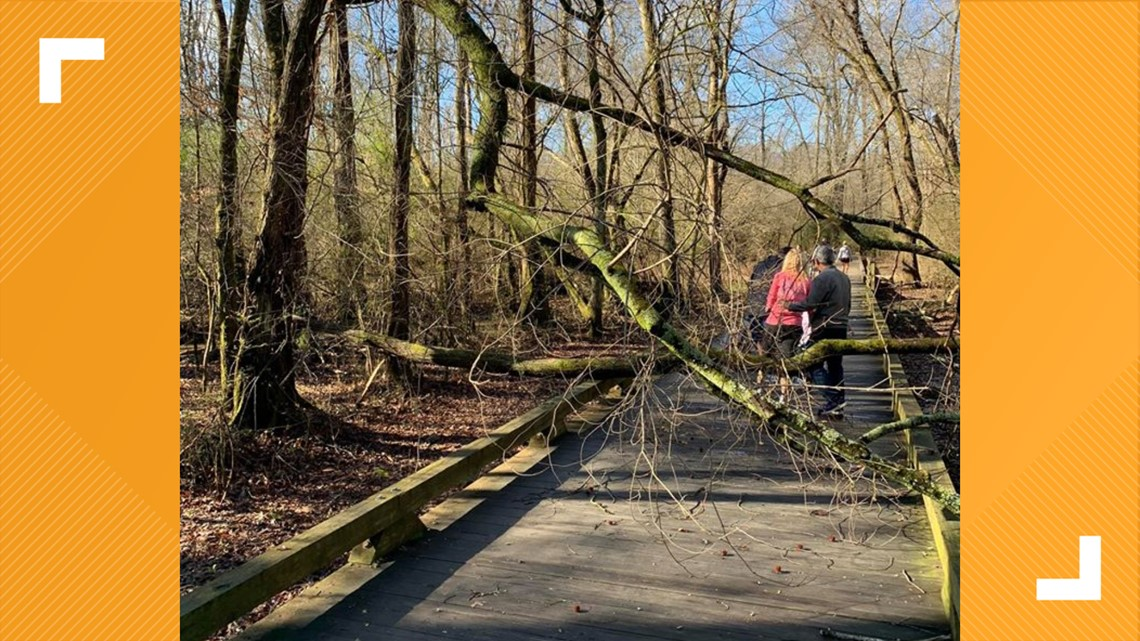 Forsyth County says no trail closures following storms; more rain to come