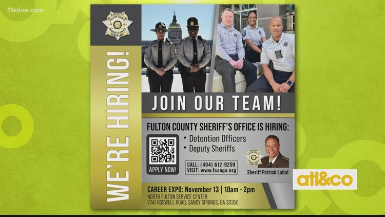 Fulton County Sheriff's Office is Hiring