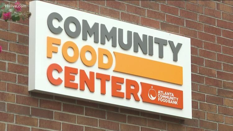 Non-profit providing food to more than 700 pantries in metro Atlanta
