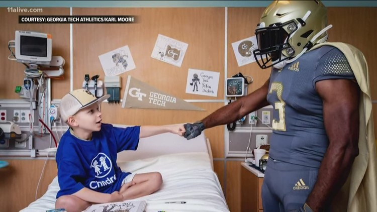 Georgia Tech players to be a part of Cape Day at Children's Health Care of Atlanta