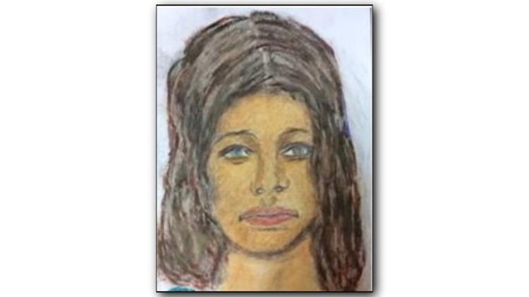 Samuel Little sketch of possible victim