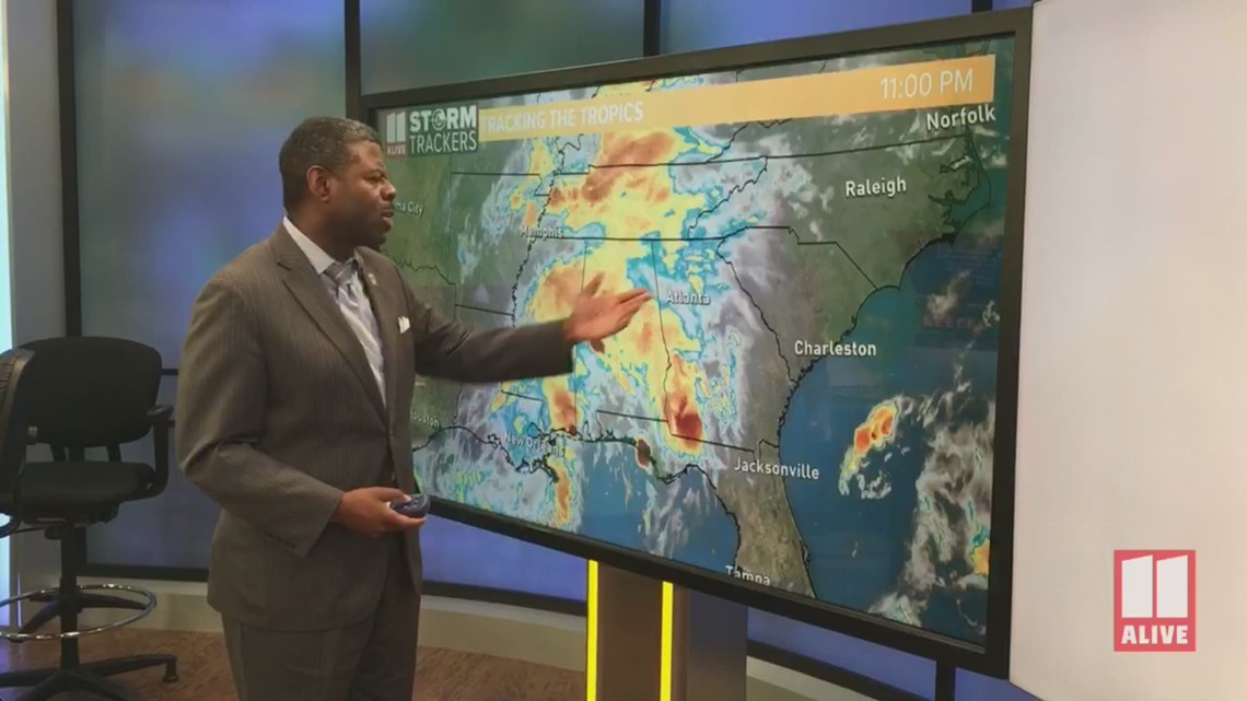Gas Companies In Georgia >> Tropical Storm Dorian - Monday, 11 am update | 11alive.com