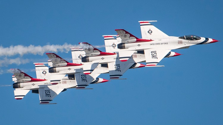 Thunderbirds to fly over Rome, Ga. this weekend