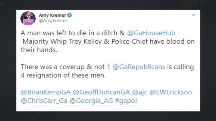 Amy Kremer Rep Kelley Tweet Duty to Report