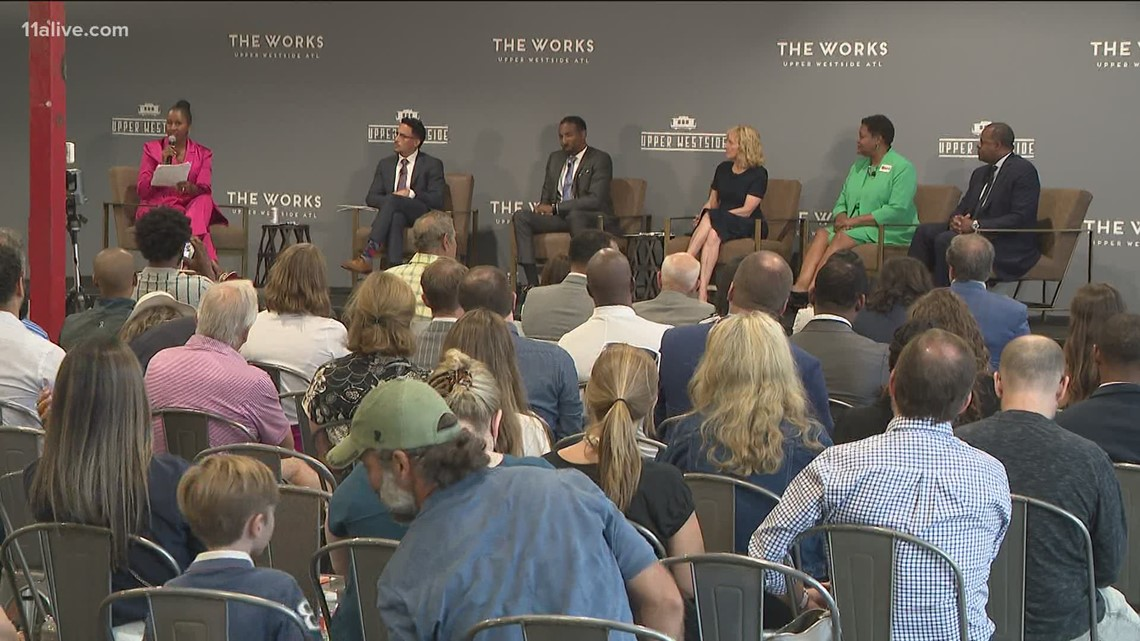 Mayoral candidates participate in forum in Atlanta