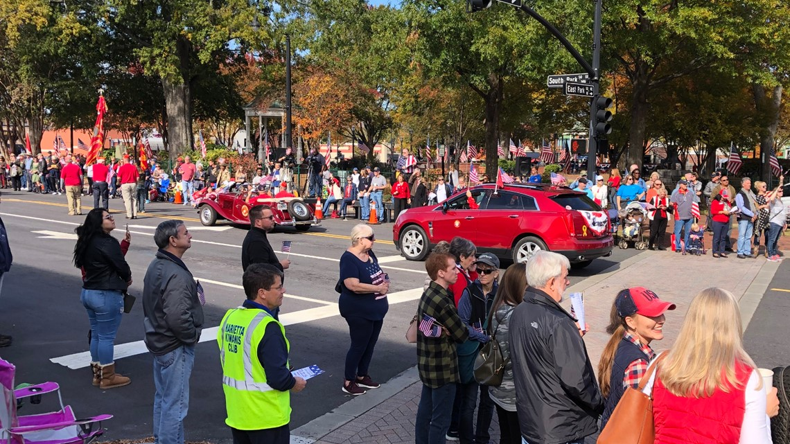 Veterans honored in Cobb County