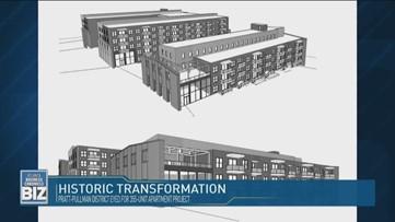Historic Transformation in Pratt-Pullman District
