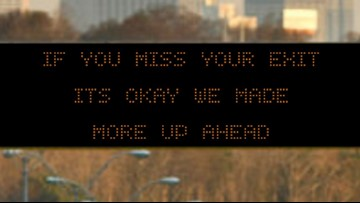 GDOT releases hilarious safety messages that you'll soon see on highways