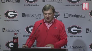 UGA's Kirby Smart previews Notre Dame matchup
