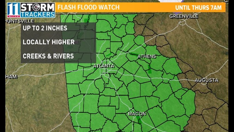 Flash Flood Watch 11142018