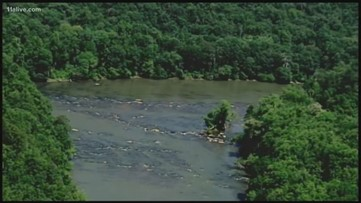 Body pulled from the Chattahoochee River