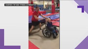 Spina bifida can't take away this child's joy