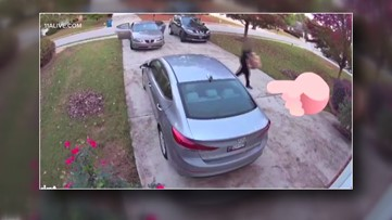 McDonough woman says security video shows Amazon driver deliver package, take it back