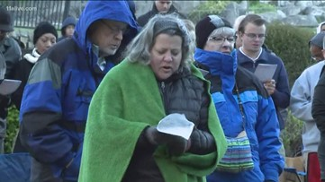 Thousands show up to Stone Mountain Park for Easter Sunrise Service
