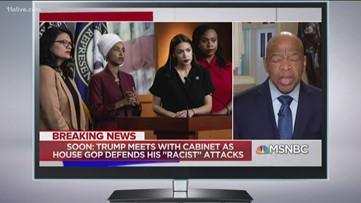 John Lewis: Trump's tweets dead wrong