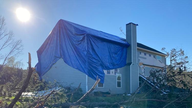 Newnan tornado damaged 1,700+ homes, according to assessment