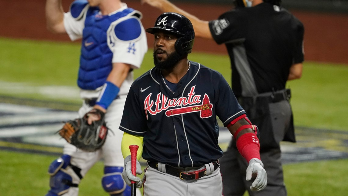 Braves' Marcell Ozuna arrested by Sandy Springs Police, jail records show