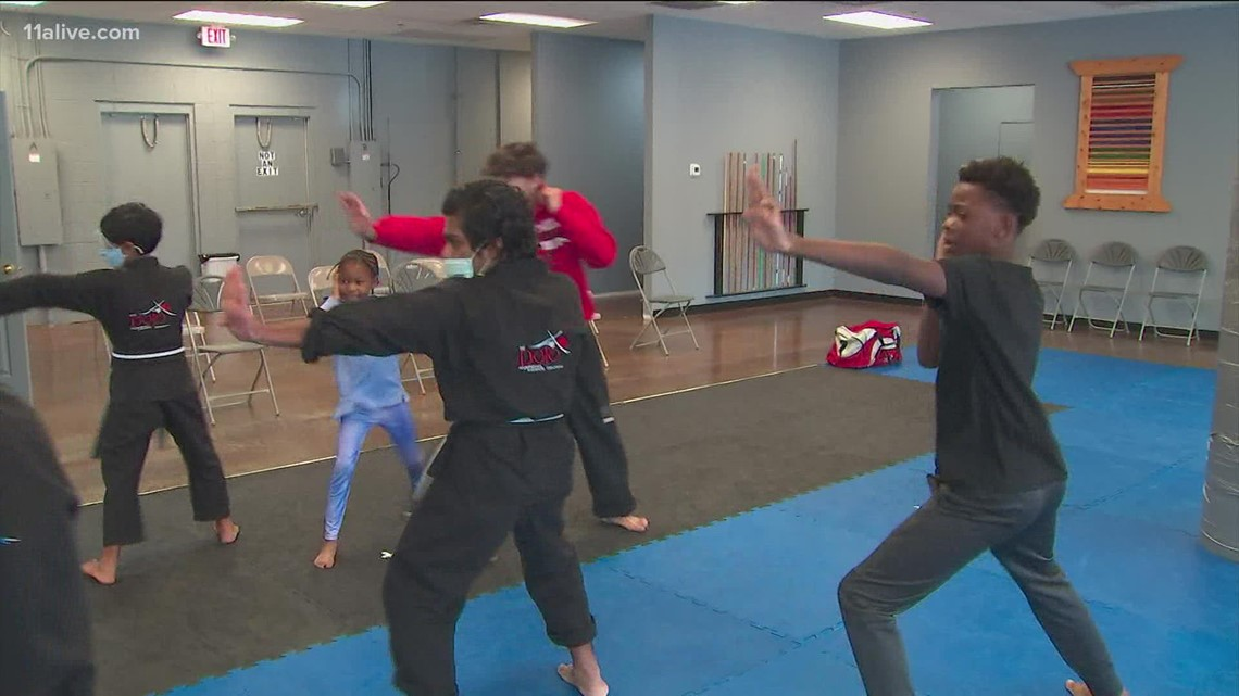 Karate class hosts event for National Bullying Prevention Month