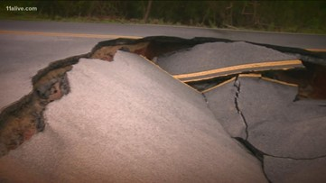 Repairs to sinkhole in Conyers will last 6 to 8 weeks