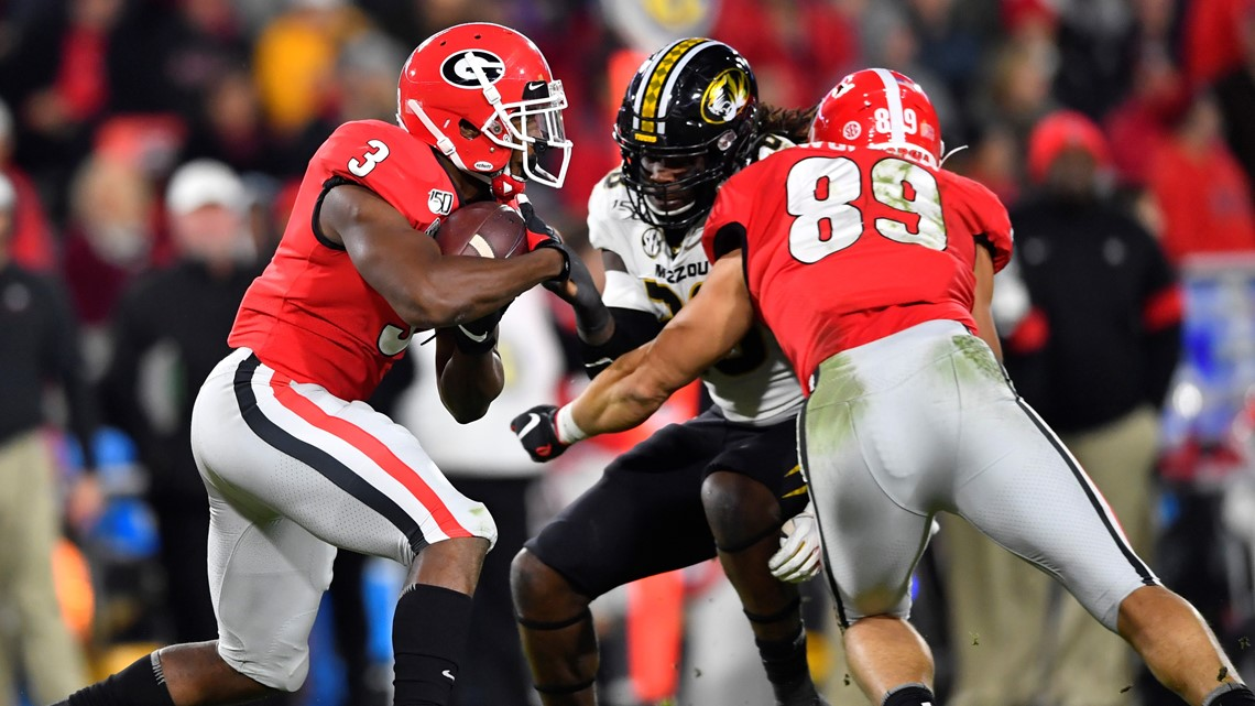 College Football Playoff standings place Georgia in Top 4