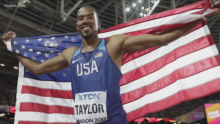 Tokyo Olympic Games: Interview with Fayetteville's Christian Taylor, going for 3rd straight gold in triple jump