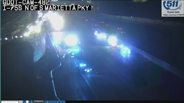 Deadly crash on I-75 shuts down interstate