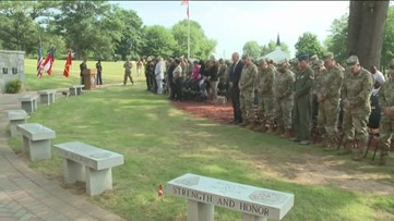Ceremony held ahead of Memorial Day to honor soldiers
