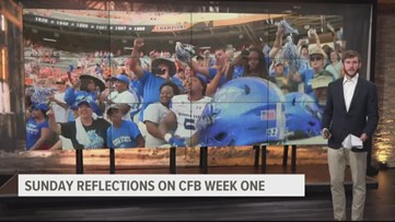 CFB Week One: A Sunday Reflection