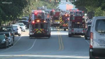 Fire breaks out in downtown Atlanta building, spreads next door