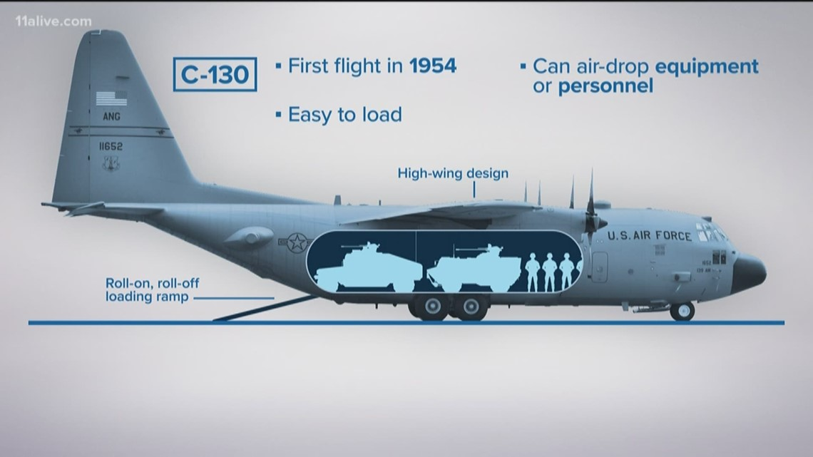 Gas Companies In Ga >> What to know about the C130 Hercules military aircraft   11alive.com