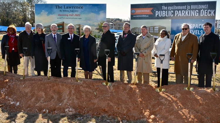 Ground breaking 'The Lawrence'