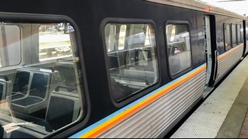 Woman 'running on the tracks' forces MARTA to delay service