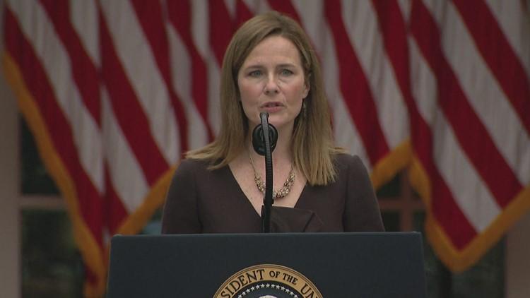 Atlanta reacts to Supreme Court Justice nomination Amy Coney Barrett