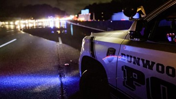 I-285 traffic moving again after flooding in Dunwoody