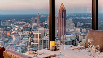 Two Atlanta restaurants made the list of the '50 Best Restaurants for a Date'