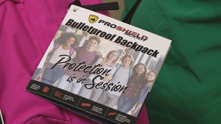 Why bulletproof backpack sales increase after shootings