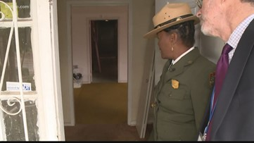 First peek into newest King historic site that's being restored