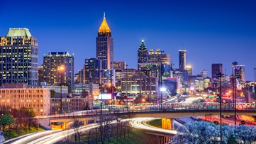 Atlanta was the 4th fastest-growing city last year