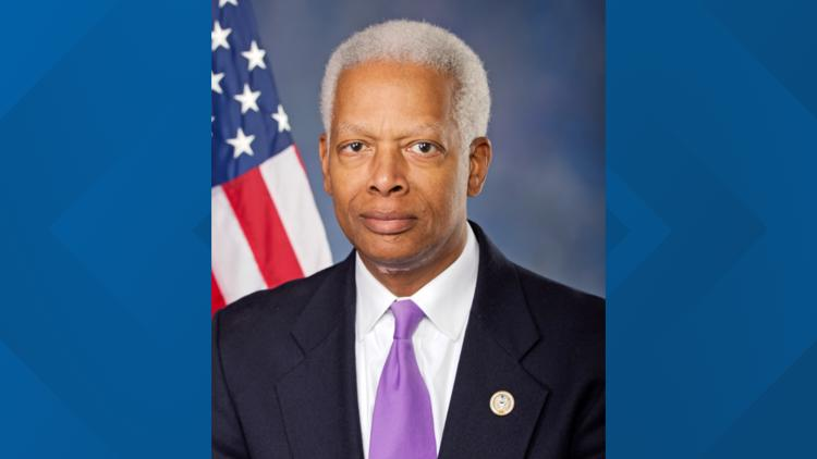 Georgia US Rep. Hank Johnson arrested during protest